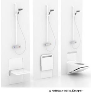 concept room - combiné wc douche
