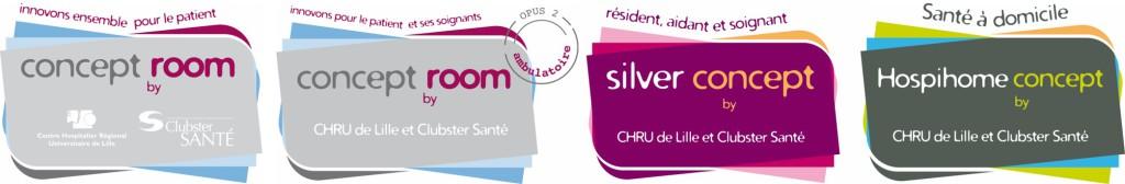 Les concept room by Clubster Sante et le CHRU de Lille